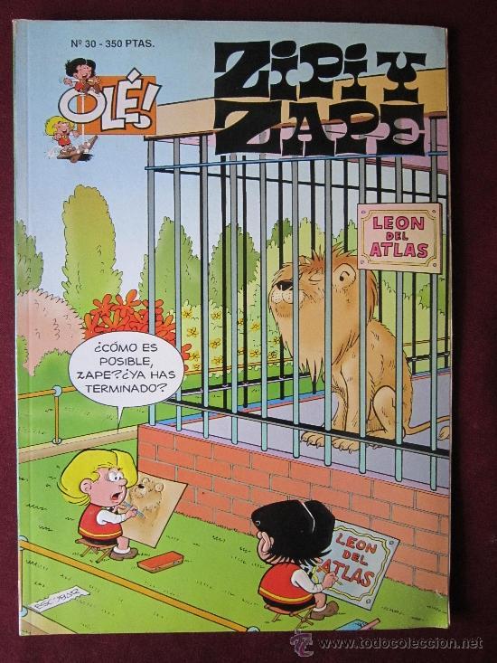 ZIPI Y ZAPE COLECCIÓN OLÉ! Nº 30. ESCOBAR. EDICIONES B, GRUPO Z. 1994 (Tebeos y Comics - Ediciones B - Humor)