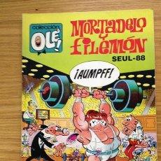Cómics: MORTADELO Y FILEMÓN Nº 325-M87 COLECCIÓN OLÉ SEÚL 88 PRIMERA EDICIÓN 1988. Lote 38812749