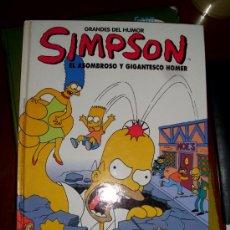 Cómics: LOS SIMPSONS GRANDES DEL HUMOR 11 EL PERIODICO. Lote 38913332