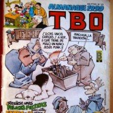 Cómics: ALMANAQUE 1990 TBO - Nº 23. 1989. 59 PÁGS. PUBLICACIÓN MENSUAL.. Lote 39137039