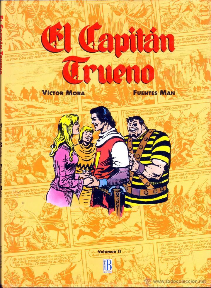 TEBEOS-COMICS GOYO - CAPITAN TRUENO - FUENTES MAN - ALBUM COMICS DE ORO DE LUJO *BB99 (Tebeos y Comics - Ediciones B - Clásicos Españoles)