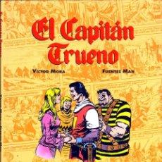 Cómics: TEBEOS-COMICS GOYO - CAPITAN TRUENO - FUENTES MAN - ALBUM COMICS DE ORO DE LUJO *BB99. Lote 39499520