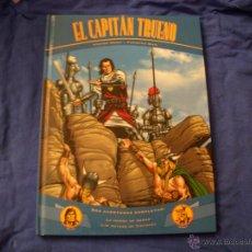 Cómics: EL CAPITÁN TRUENO, DOS AVENTURAS COMPLETAS, TAPA DURA, EDICIONES B. Lote 39754057