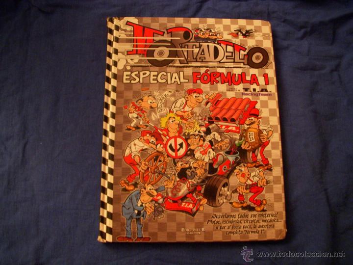MORTADELO ESPECIAL FÓRMULA 1, TAPA DURA, EDICIONES B (Tebeos y Comics - Ediciones B - Humor)