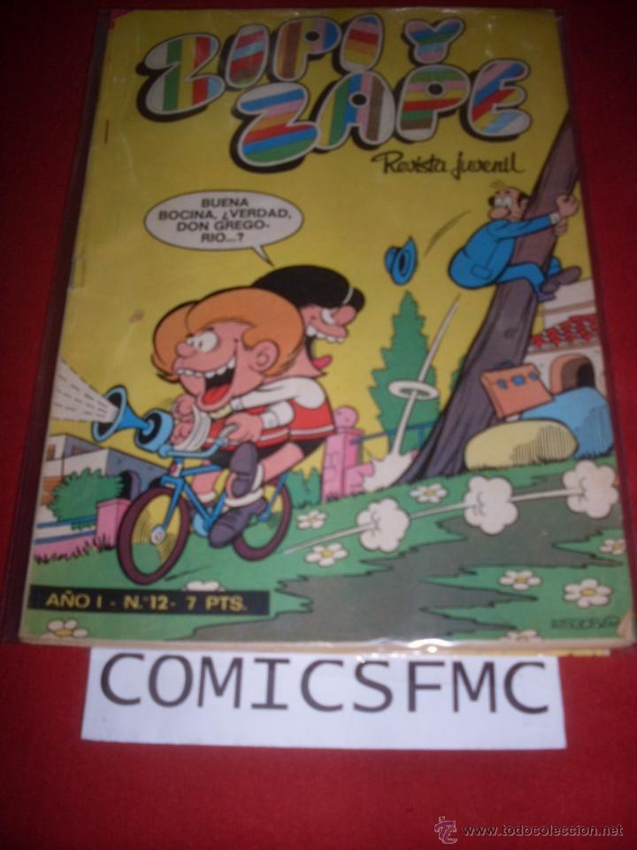 BRUGUERA ZIPI Y ZAPE NUMERO 12 (Tebeos y Comics - Ediciones B - Otros)