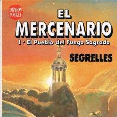 Cómics: EL MERCENARIO. Nº 1. EL PUEBLO DEL FUEGO SAGRADO. POR SEGRELLES. Lote 39925829