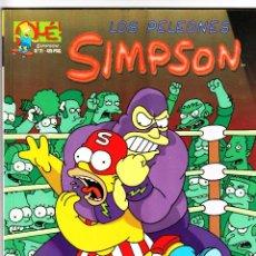 Cómics: LOS PELEONES SIMPSON 1ª EDICIÓN 1999. Lote 40045351