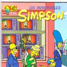 Cómics: LOS IMPREVISIBLES SIMPSON 1ª EDICIÓN 1999. Lote 40045697