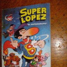 Cómics: SUPER LOPEZ - EL SUPER GRUPO - Nº 2 - 1988 - EDICIONES B - 2-SL -. Lote 40328779