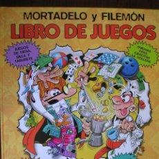 Cómics: LIBRO DE JUEGOS. MORTADELO Y FILEMON. EDICIONES B. 2004. TAPA DURA.. Lote 40398036