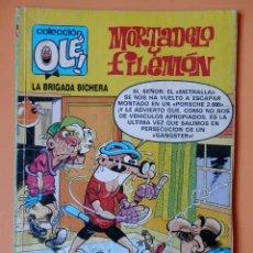 Cómics: MORTADELO Y FILEMÓN. LA BRIGADA BICHERA. OLÉ! 219-M. 121 - FRANCISCO IBÁÑEZ. Lote 40275187