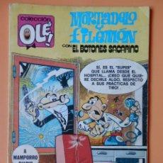 Cómics: MORTADELO Y FILEMÓN, CON EL BOTONES SACARINO. OLÉ! 194 - FRANCISCO IBÁÑEZ. Lote 40275256