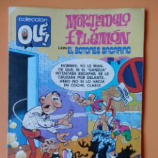 Cómics: MORTADELO Y FILEMÓN, CON EL BOTONES SACARINO. OLÉ! M. 240 - FRANCISCO IBÁÑEZ. Lote 40275475
