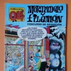 Cómics: MORTADELO Y FILEMÓN. CONCURSO DE OPOSICIÓN. OLÉ! 111-M. 1 - FRANCISCO IBÁÑEZ. Lote 40275598
