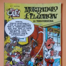 Cómics: MORTADELO Y FILEMÓN. LA TERGIVERSICINA. OLÉ! Nº 7 - FRANCISCO IBÁÑEZ. Lote 40275780