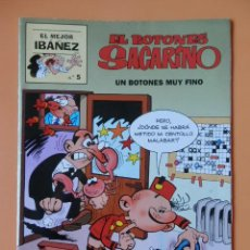 Cómics: EL BOTONES SACARINO. UN BOTONES MUY FINO. EL MEJOR IBÁÑEZ. Nº 5 - FRANCISCO IBÁÑEZ. Lote 40275976