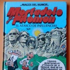 Cómics: MORTADELO Y FILEMÓN. EL ATASCO DE INFLUENCIAS. MAGOS DEL HUMOR. Nº 40 - FRANCISCO IBÁÑEZ. Lote 40276017