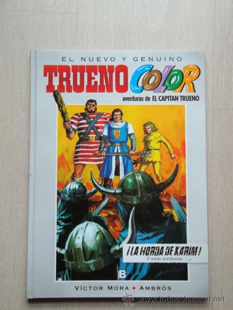 TRUENO COLOR N° 9. ¡LA HORDA DE KARIM! , DE VÍCTOR MORA Y AMBRÓS (Tebeos y Comics - Ediciones B - Clásicos Españoles)