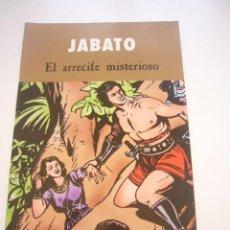 Cómics: JABATO - EL ARRECIFE MISTERIOSO EDICIONES B - 2003 E3. Lote 40651743