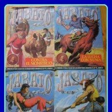 Cómics: 4 CÓMICS EL JABATO - B HISTÓRICA - #8,12,14,15. Lote 33543219