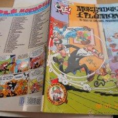 Cómics: COMIC HUMOR JUVENIL EDICIONES B: MORTADELO FILEMON 90 CASO PEQUEÑITOS PORTADA RELIEVE 1ª ED MJ.CE. Lote 41116597