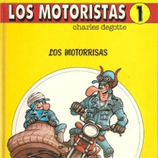 Cómics: LOS MOTORISTAS. Nº1. CHARLES DEGOTTE. Lote 41132987