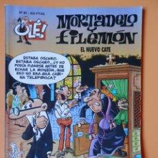Cómics: MORTADELO Y FILEMÓN. EL NUEVO CATE. OLÉ! Nº 80 - FRANCISCO IBÁÑEZ. Lote 41321145