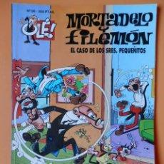 Cómics: MORTADELO Y FILEMÓN. EL CASO DE LOS SEÑORES PEQUEÑITOS. OLÉ! Nº 90 - FRANCISCO IBÁÑEZ. Lote 41321227