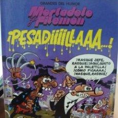 Cómics: MORTADELO Y FILEMON.GRANDES DEL HUMOR Nº 2 ED.B,SA.1997 TAPA DURA ¡PESADILLAAA...!. Lote 41502533