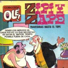 Cómics: ZIPI Y ZAPE***COLECCIÓN OLÉ NÚMERO 114-Z.2**EDICIONES B 1987. Lote 41655849