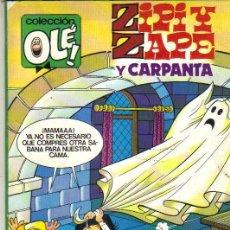 Cómics: ZIPI Y ZAPE Y CARPANTA ***COLECCIÓN OLÉ NÚMERO 292-Z.23*EDICIONES B 1987. Lote 41655862