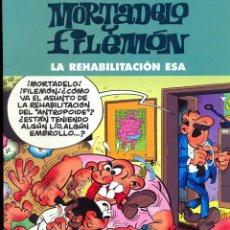Cómics: MORTADELO Y FILEMÓN - LA REHABILITACIÓN ESA - EDICIÓN ESPECIAL. Lote 41778947