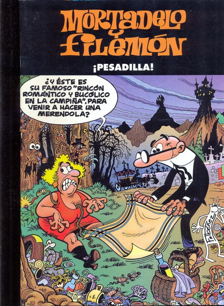 MORTADELO Y FILEMÓN - ¡PESADILLA! - EDICIÓN ESPECIAL (Tebeos y Comics - Ediciones B - Humor)