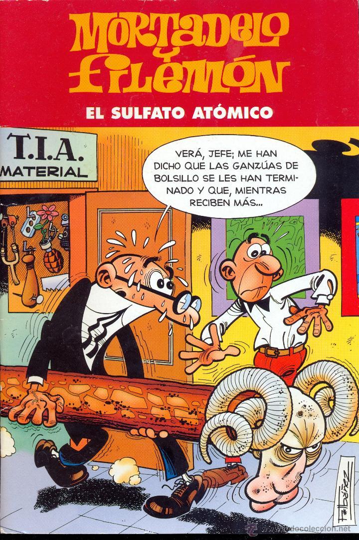 MORTADELO Y FILEMÓN - EL SULFATO ATÓMICO - EDICIÓN ESPECIAL (Tebeos y Comics - Ediciones B - Humor)