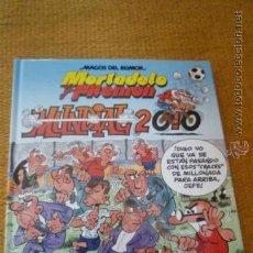 Cómics: MUNDIAL 2010.2ª EDICIÓN. MORTADELO Y FILEMON.NUEVO.. Lote 38630296