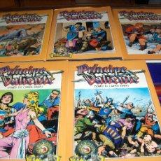 Cómics: PRÍNCIPE VALIENTE EDICIÓN HISTÓRICA TOMOS II, III, IV, V Y VII. EDICIONES B 1988. CON SOBRECUBIERTAS. Lote 42502443