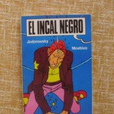Cómics: EL INCAL NEGRO COMIC, NÚMERO 1, MOEBIUS, JODOROWSKY, DRAGON POCKET, EDICIONES B, 128 PÁGINAS, 1990. Lote 42591188