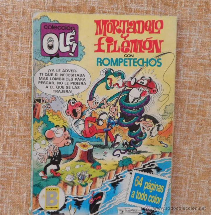 MORTADELO Y FILEMÓN COMIC, NÚMERO 285, COLECCIÓN OLÉ, EDICIONES B, GRUPO ZETA, AÑO 1987, DICIEMBRE (Tebeos y Comics - Ediciones B - Clásicos Españoles)