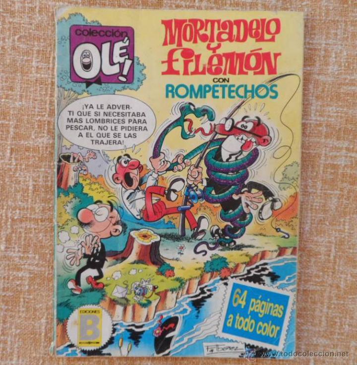 Cómics: Mortadelo y Filemón Comic, número 285, Colección Olé, Ediciones B, Grupo Zeta, año 1987, Diciembre - Foto 2 - 42596408