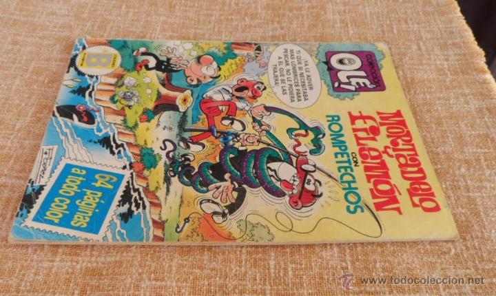 Cómics: Mortadelo y Filemón Comic, número 285, Colección Olé, Ediciones B, Grupo Zeta, año 1987, Diciembre - Foto 4 - 42596408