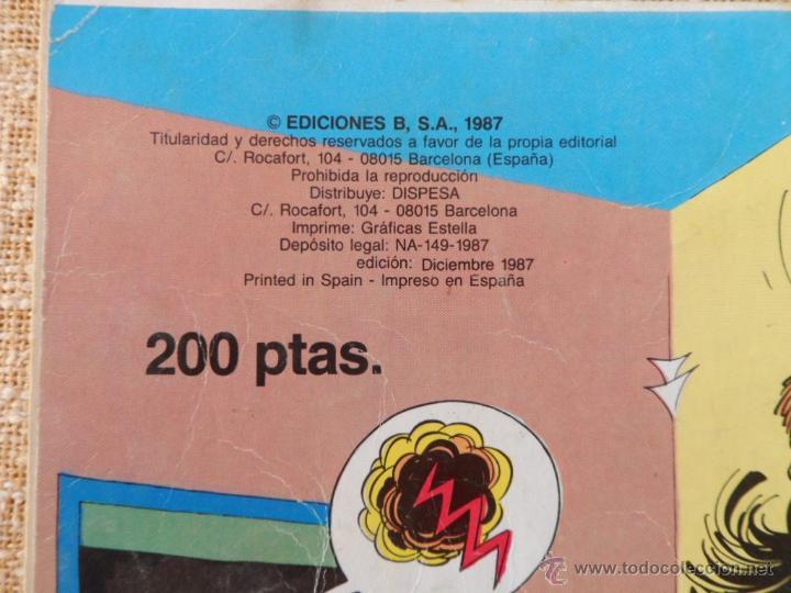 Cómics: Mortadelo y Filemón Comic, número 285, Colección Olé, Ediciones B, Grupo Zeta, año 1987, Diciembre - Foto 6 - 42596408