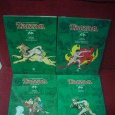 Cómics: TARZAN (HAROLD FOSTER) COLECCIÓN COMPLETA. 4 TOMOS. Lote 152081377