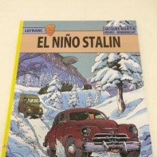 Comics : LEFRANC 24: EL NIÑO STALIN - JACQUES MARTIN - EDITORIAL NETCOM2. Lote 42694015