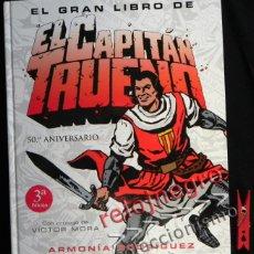 Cómics: GRAN LIBRO DE EL CAPITÁN TRUENO 50º ANIVERSARIO -NO ES CÓMIC PRÓL. VÍCTOR MORA HISTORIA CURIOSIDADES. Lote 42786923