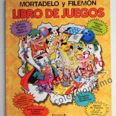 Cómics: MORTADELO Y FILEMÓN LIBRO DE JUEGOS -NO CÓMIC - 100 JUEGO EDICIONES B HUMOR PASATIEMPOS IBÁÑEZ NUEVO. Lote 42787242