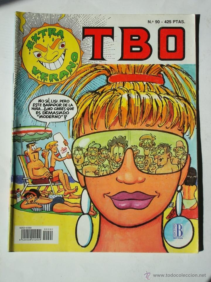 TBO Nº 90 EXTRA VERANO - EDICIONES B (Tebeos y Comics - Ediciones B - Humor)