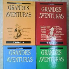 Cómics: GRANDES AVENTURAS - CUATRO TOMOS. Lote 43265540