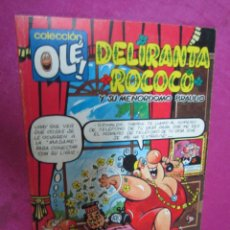Cómics: DELIRANDA ROCOCO COLECCION OLE. Lote 43683376