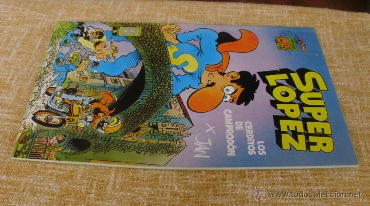 Cómics: Super López Comic, número 16, Colección Olé, Ediciones B, Grupo Zeta, Primera edición, 1990, Abril - Foto 2 - 43683948