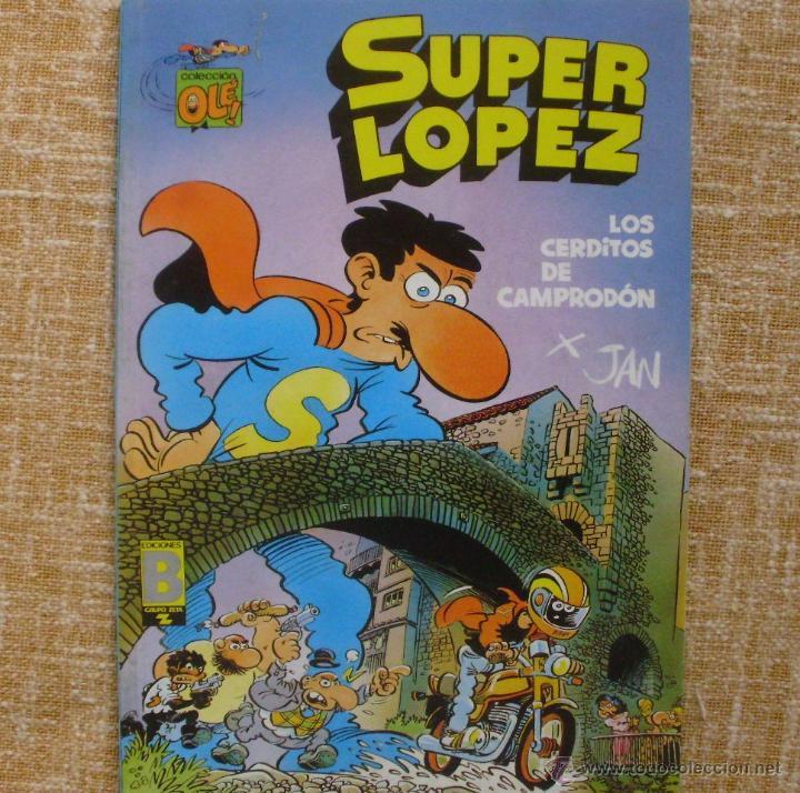 Cómics: Super López Comic, número 16, Colección Olé, Ediciones B, Grupo Zeta, Primera edición, 1990, Abril - Foto 4 - 43683948